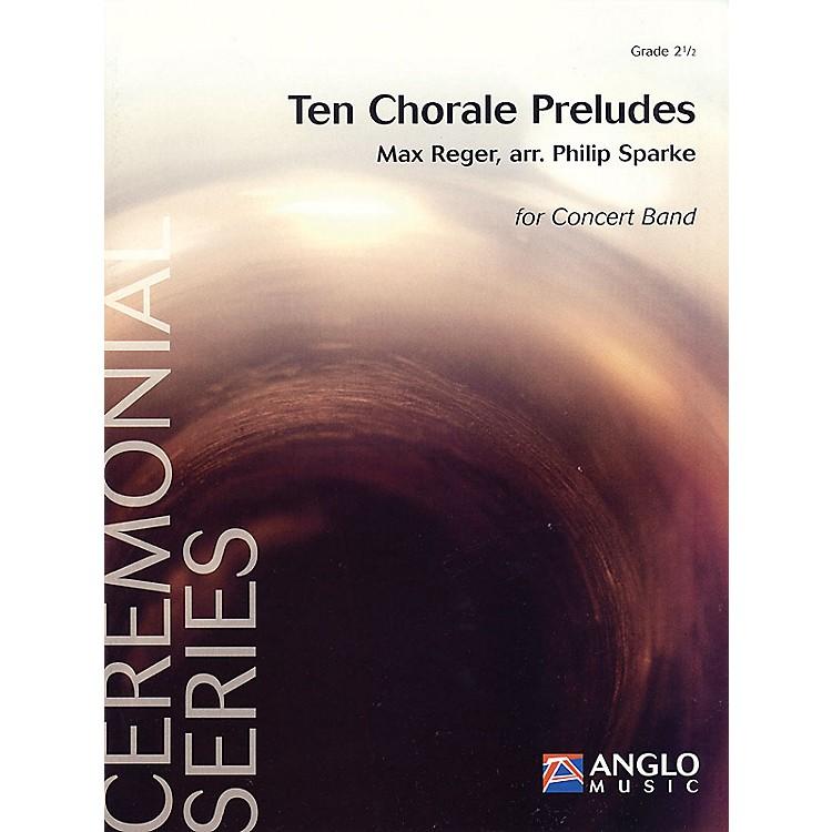 De Haske MusicTen Chorale Preludes (Grade 2.5 - Score and Parts) Concert Band Level 2.5 Arranged by Philip Sparke