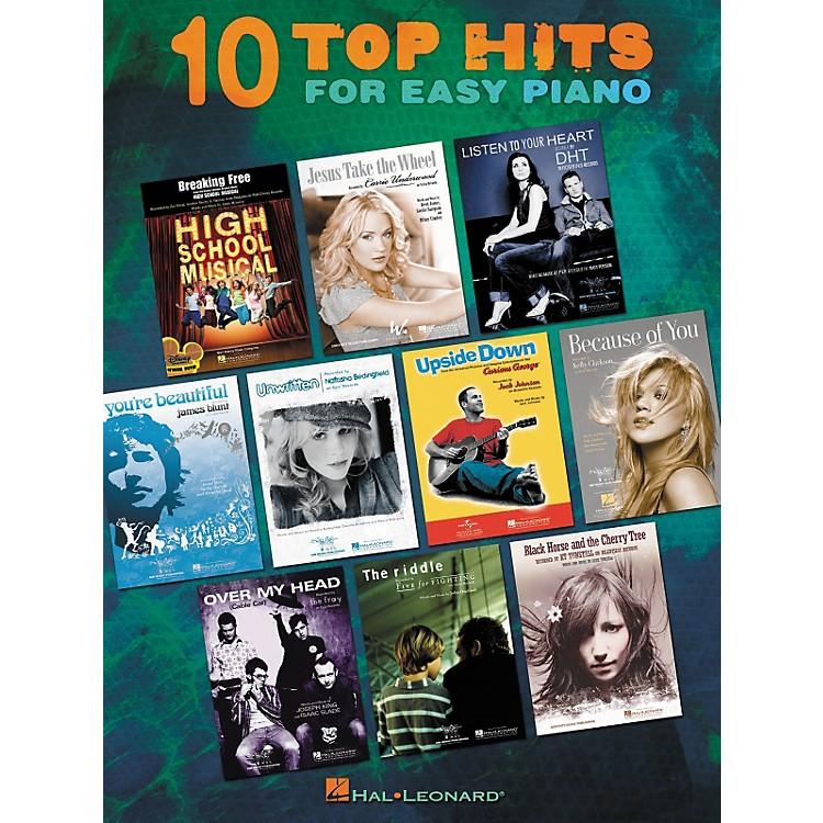 Hal LeonardTen Top Hits For Easy Piano - 2006 Edition