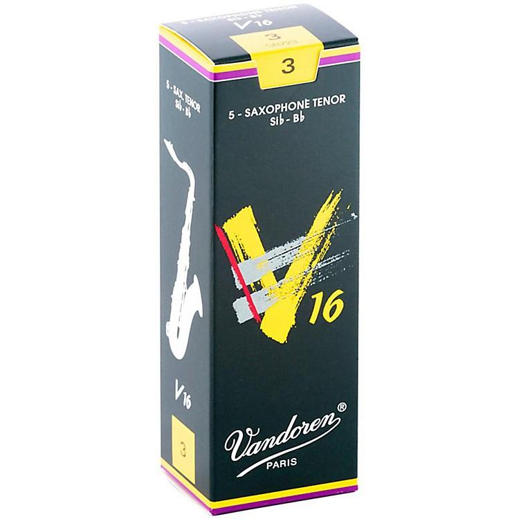VandorenTenor Sax V16 ReedsStrength 3Box of 5