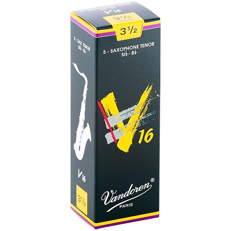 VandorenTenor Sax V16 ReedsStrength 3.5Box of 5