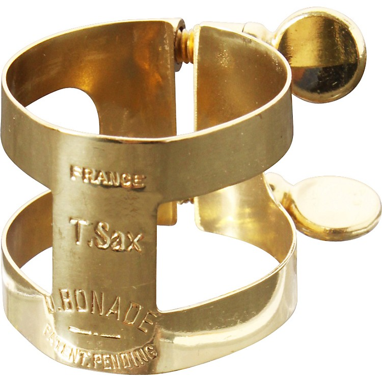 Bonade Tenor Saxophone Ligatures and Caps Nickel - Regular - Cap Only