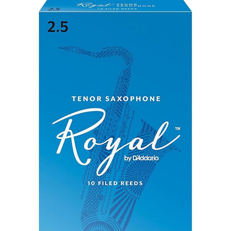 Rico RoyalTenor Saxophone Reeds, Box of 10Strength 2.5