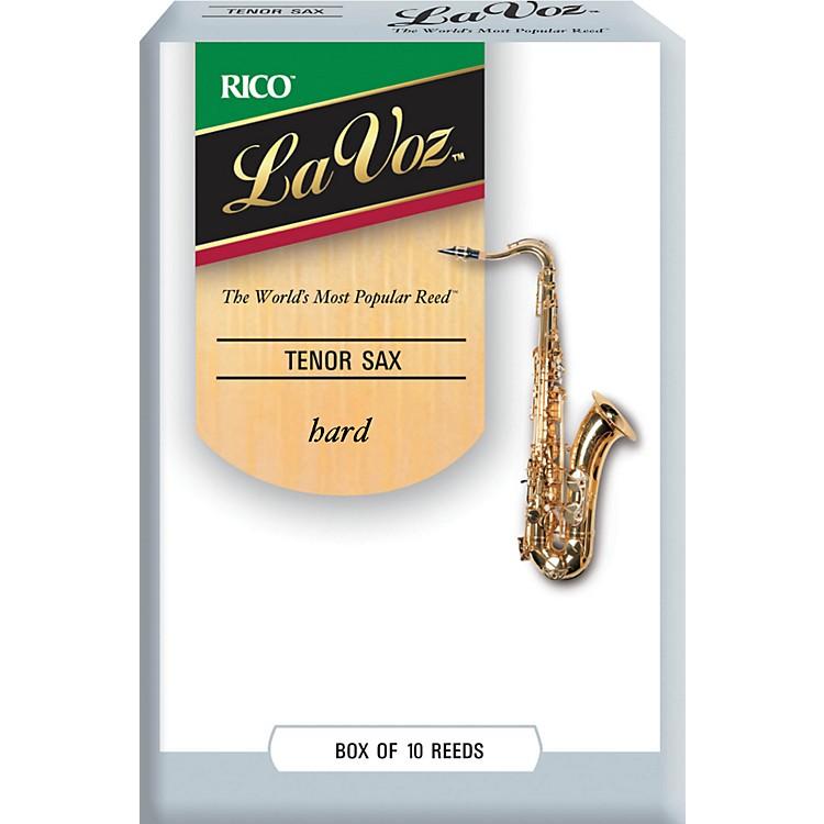 La VozTenor Saxophone ReedsHardBox of 10