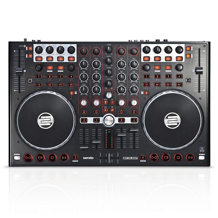 ReloopTerminal Mix 4 DJ Controller with Serato