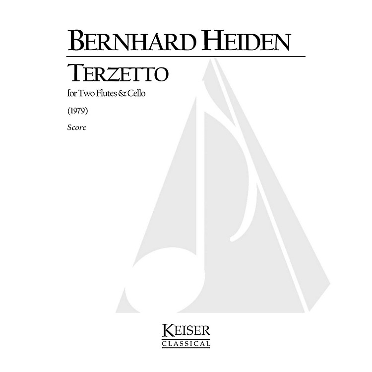 Lauren Keiser Music Publishing Terzetto (for 2 Flutes and Cello) LKM Music Series Composed by Bernhard Heiden