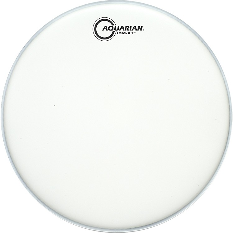 Aquarian Texture Coated Response 2 Drumhead  8 in.