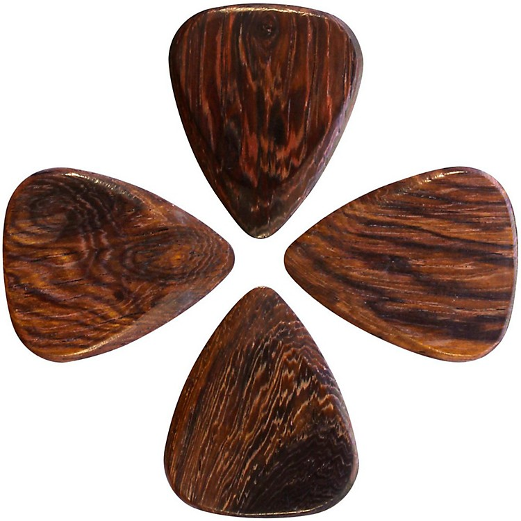 Timber Tones Thai Rosewood Guitar Picks, 4-Pack