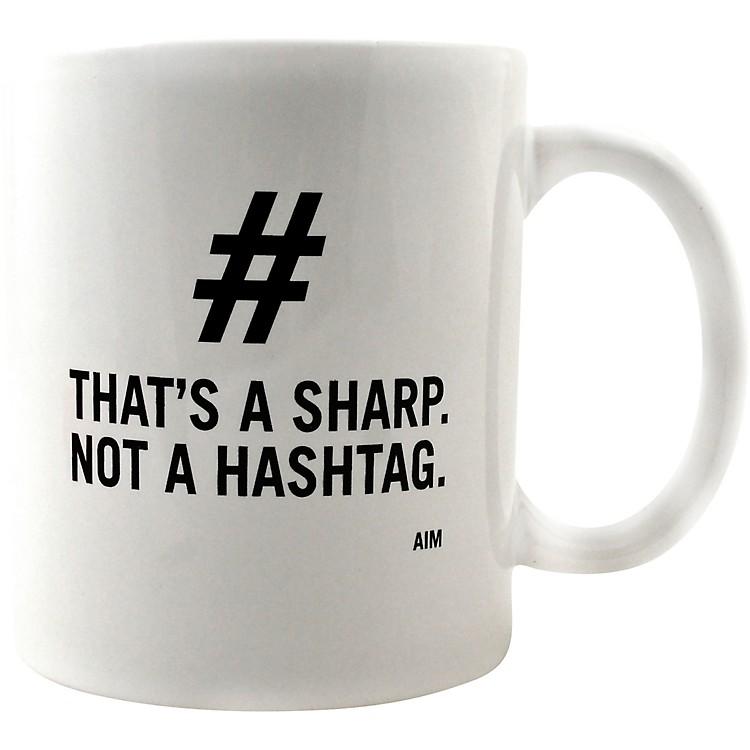 AIMThat's a Sharp. Not a Hashtag. Mug
