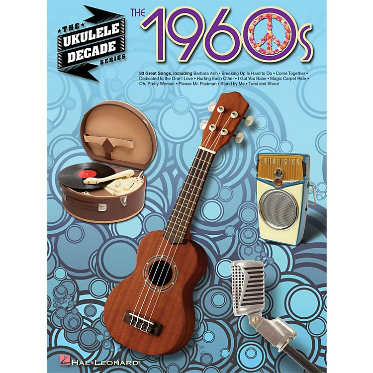 Hal Leonard The 1960s - The Ukulele Decade Series