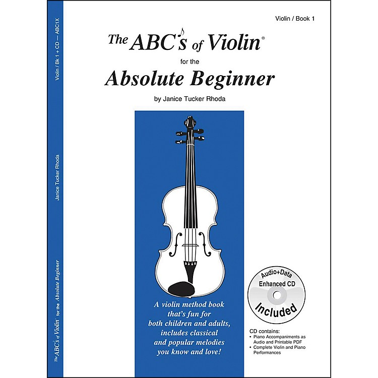 Carl FischerThe ABC's Of Violin For The Absolute Beginner - Book/Online Audio