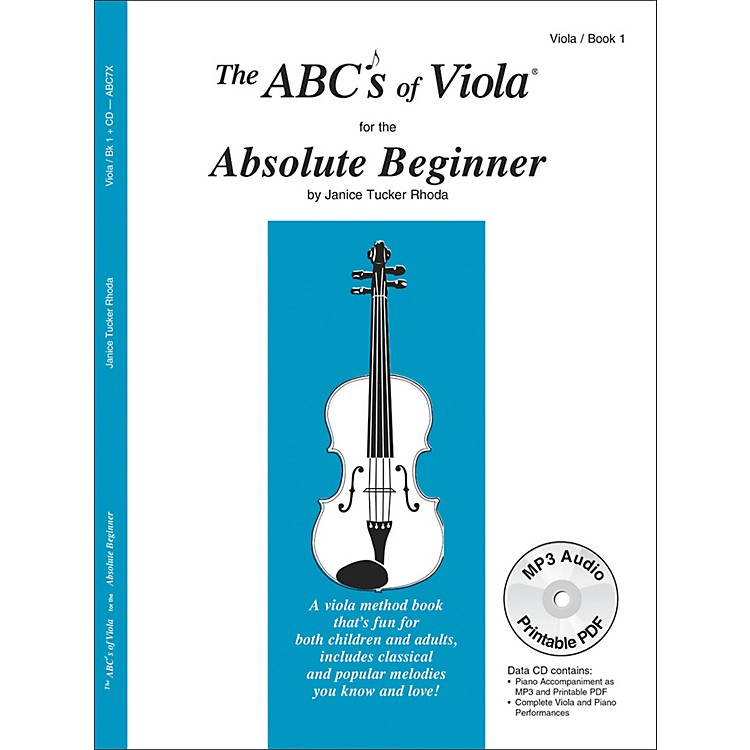 Carl Fischer The Abc's of Viola for the Absolute Beginner - Book 1 (Book/CD)