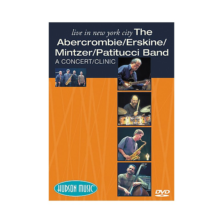 Hudson MusicThe Abercrombie/Erskine/Mintzer/Patitucci Band Live in NYC (DVD)
