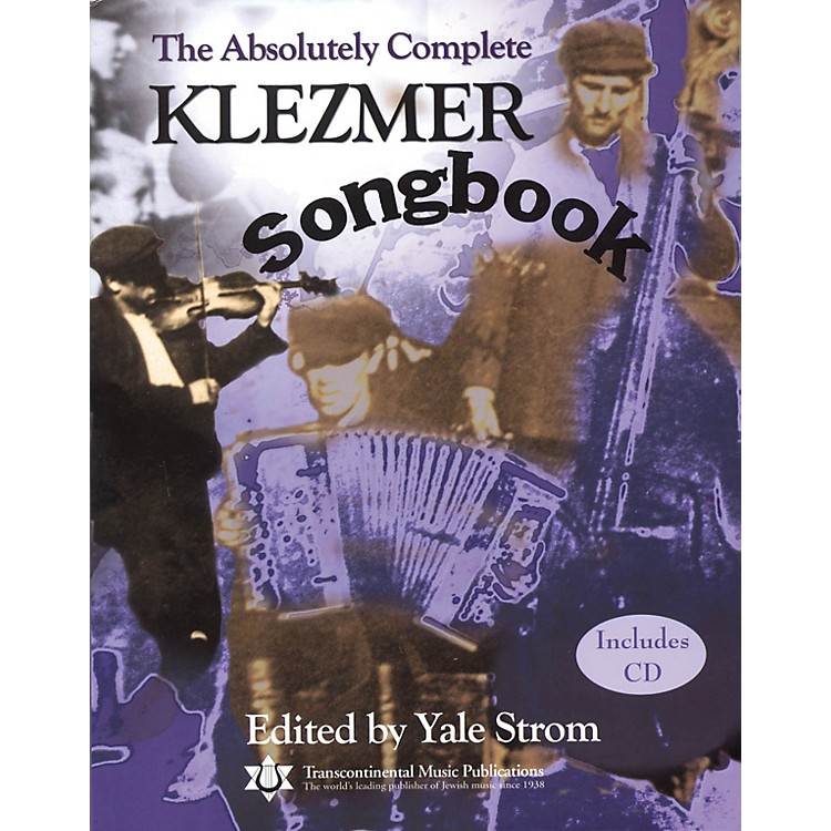 Transcontinental MusicThe Absolutely Complete Klezmer Songbook Transcontinental Music Folios Series Softcover with CD