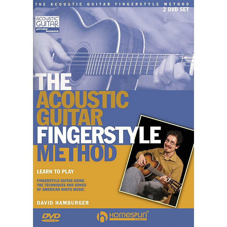 HomespunThe Acoustic Guitar Fingerstyle Method 2 DVD Set