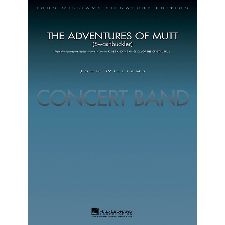 Hal LeonardThe Adventures of Mutt (from Indiana Jones) Concert Band Level 5 by Paul Lavender