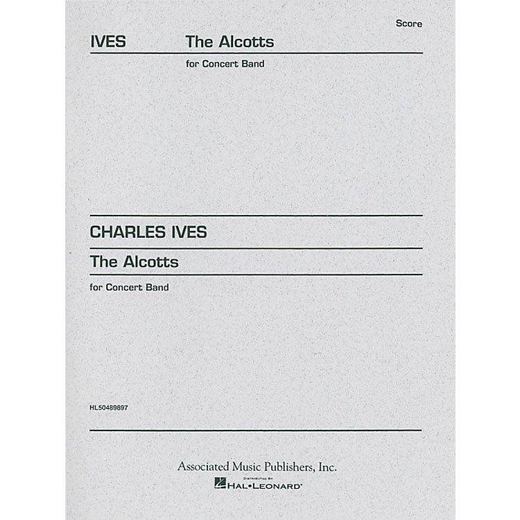 Associated The Alcotts (from Piano Sonata No. 2, Third Movement) Study Score Series Composed by Charles Ives