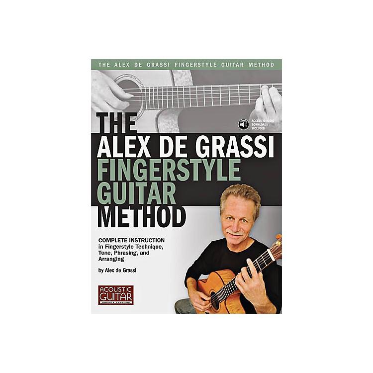 String Letter PublishingThe Alex De Grassi Fingerstyle Guitar Method Book/CD