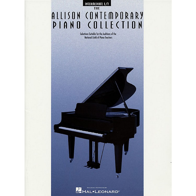 Hal LeonardThe Allison Contemporary Piano Collection Educational Piano Library by National Guild of Piano Teachers