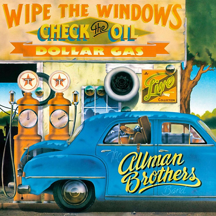 Universal Music Group The Allman Brothers - Wipe the Windows, Check The Oil, Dollar Gas [2LP]