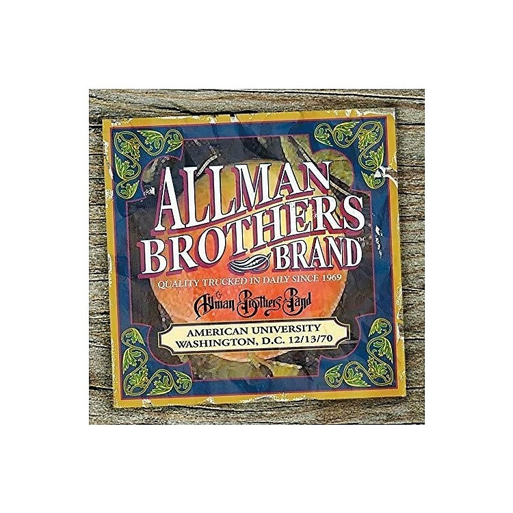 Alliance The Allman Brothers Band - American University Washington D.C.12-13-70