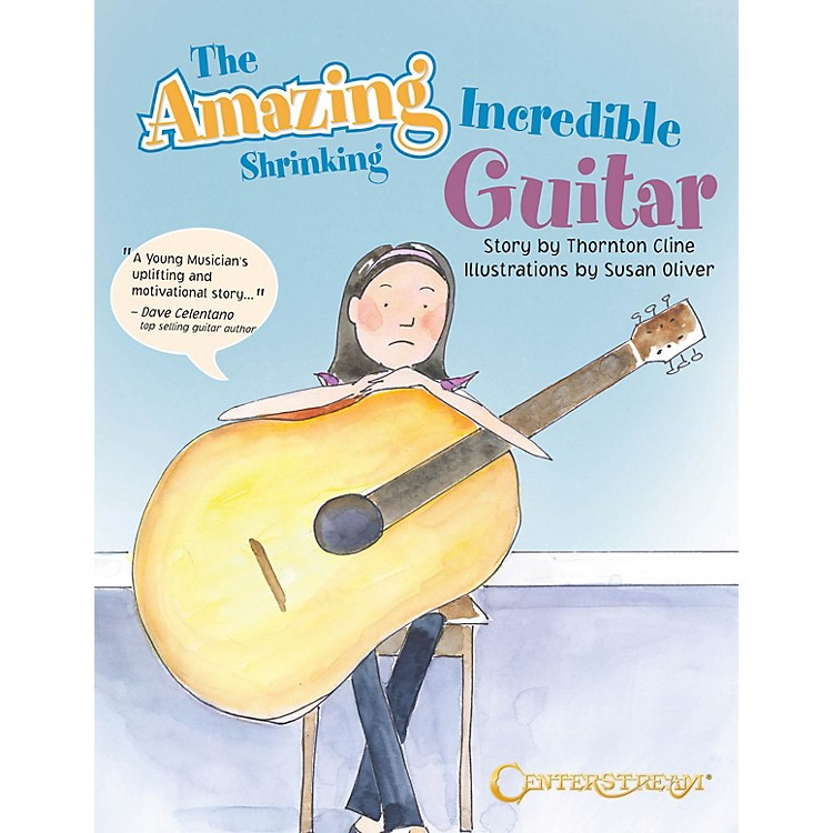 Centerstream PublishingThe Amazing Incredible Shrinking Guitar Guitar Series Softcover Written by Thornton Cline