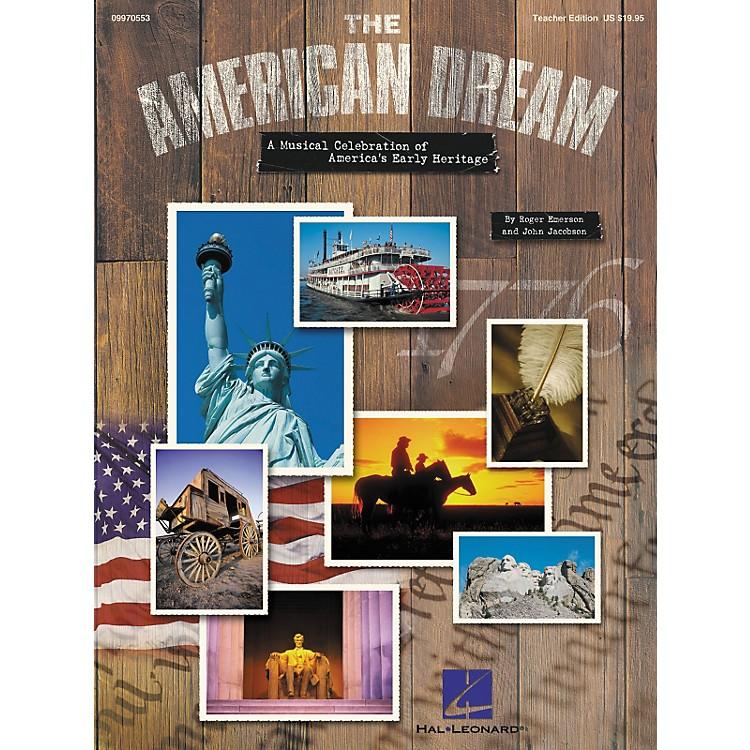 Hal LeonardThe American DreamSinger'S Edition 5-Pk