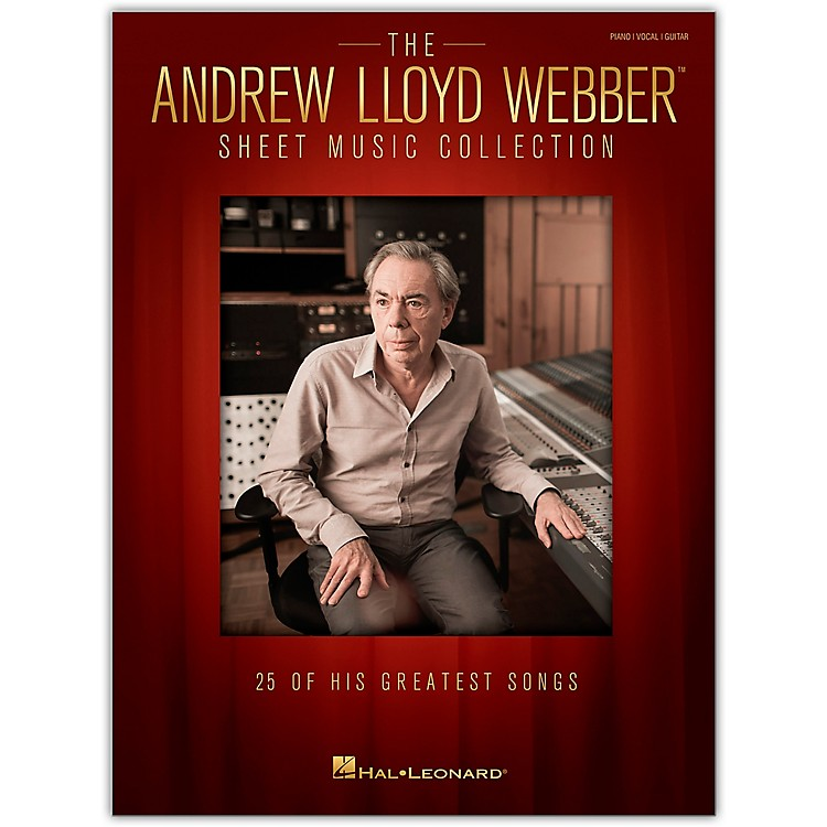 Hal Leonard The Andrew Lloyd Webber Sheet Music Collection PVG 25 Greatest Hits