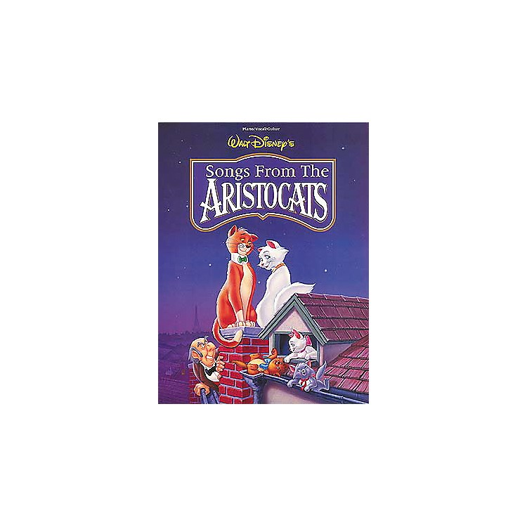 Hal LeonardThe Aristocats Piano, Vocal, Guitar Songbook