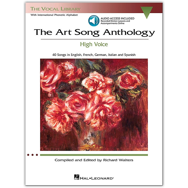 Hal Leonard The Art Song Anthology - High Voice Book with 3 CD's