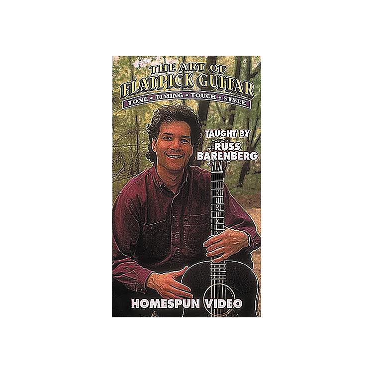 HomespunThe Art of Flatpick Guitar (VHS)