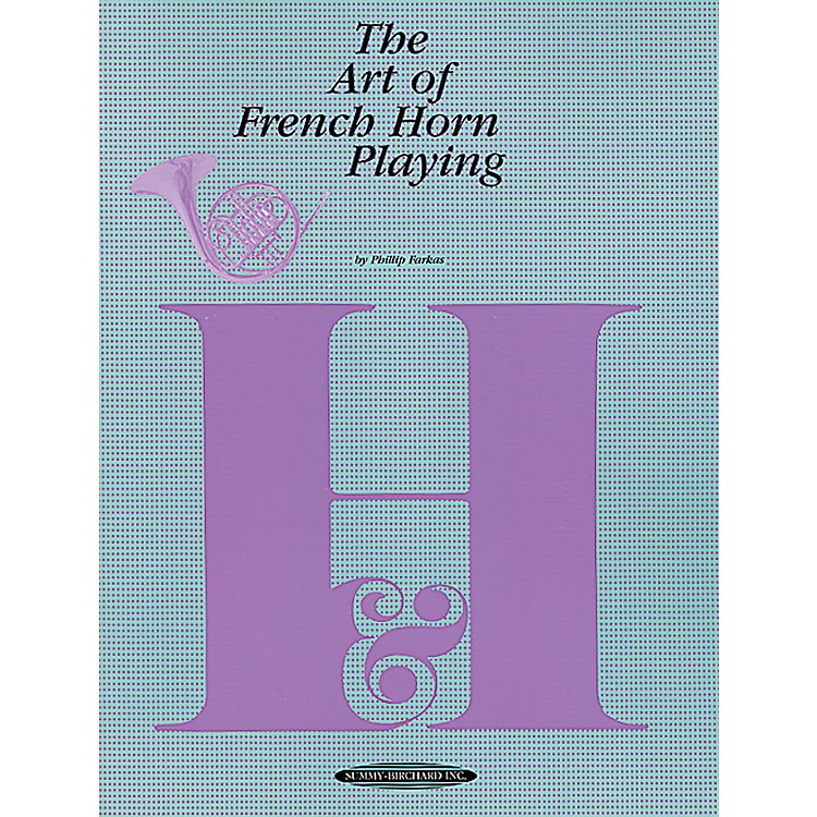 AlfredThe Art of French Horn Playing