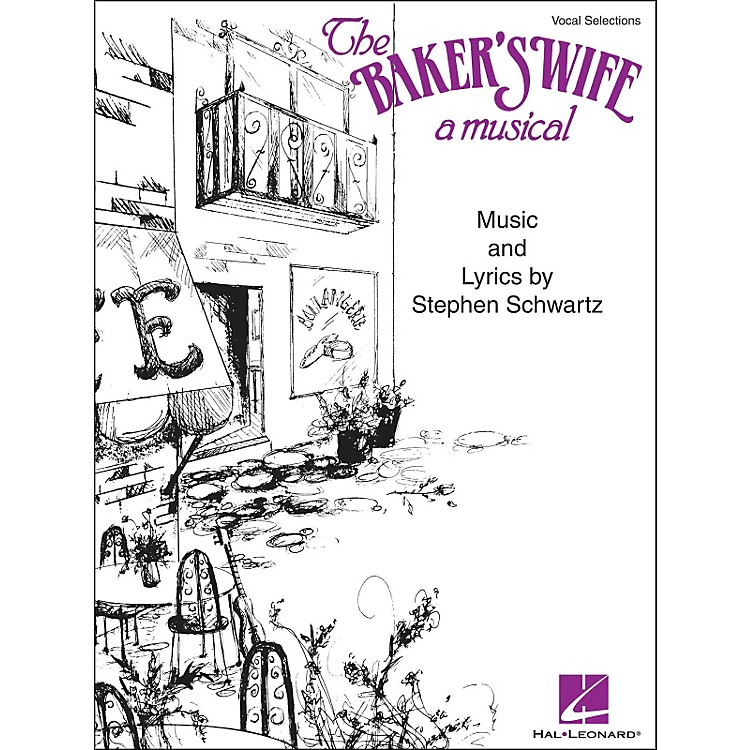 Hal LeonardThe Baker's Wife - A Musical Vocal Selections arranged for piano, vocal, and guitar (P/V/G)