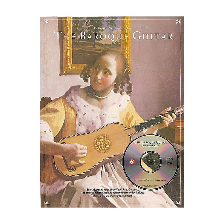 Music SalesThe Baroque Guitar Music Sales America Series Softcover with CD