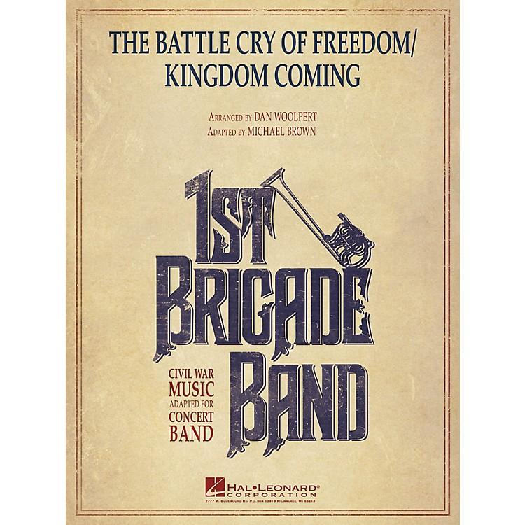 Hal LeonardThe Battle Cry of Freedom/Kingdom Coming Concert Band Level 3-4 Arranged by Dan Woolpert