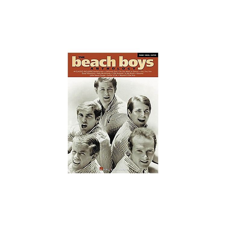 Hal LeonardThe Beach Boys Anthology Songbook