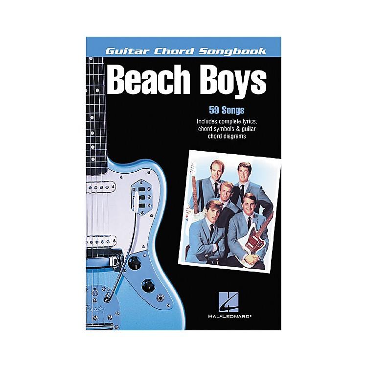 Hal LeonardThe Beach Boys Guitar Chord Songbook