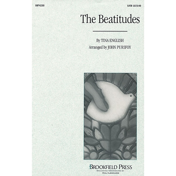 Brookfield The Beatitudes SATB arranged by John Purifoy