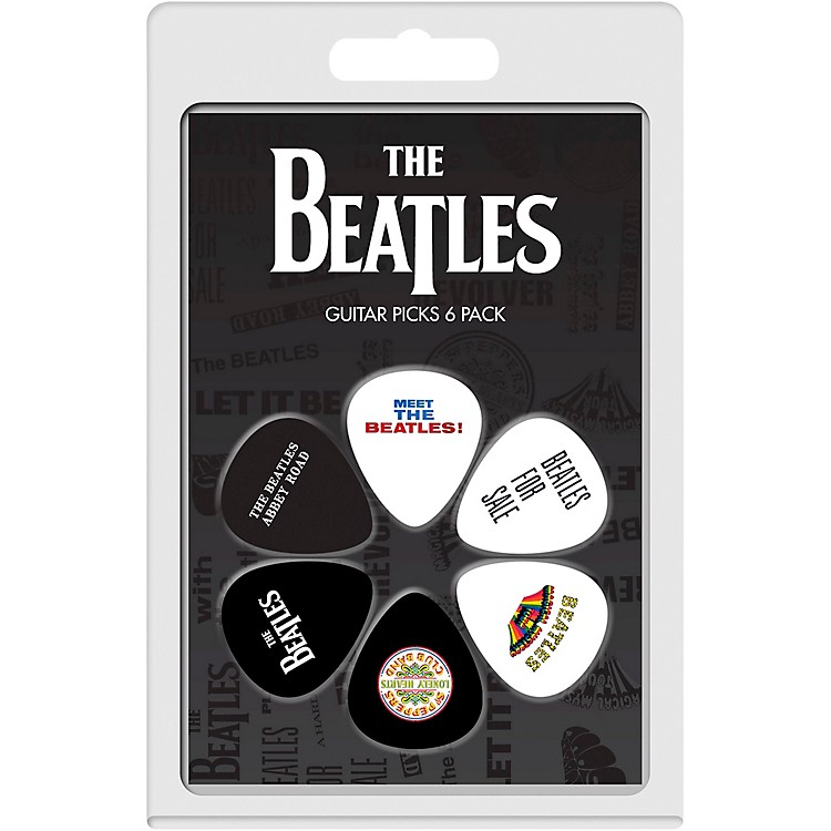 Perri's The Beatles - 6-Pack Guitar Picks Various Albums 3