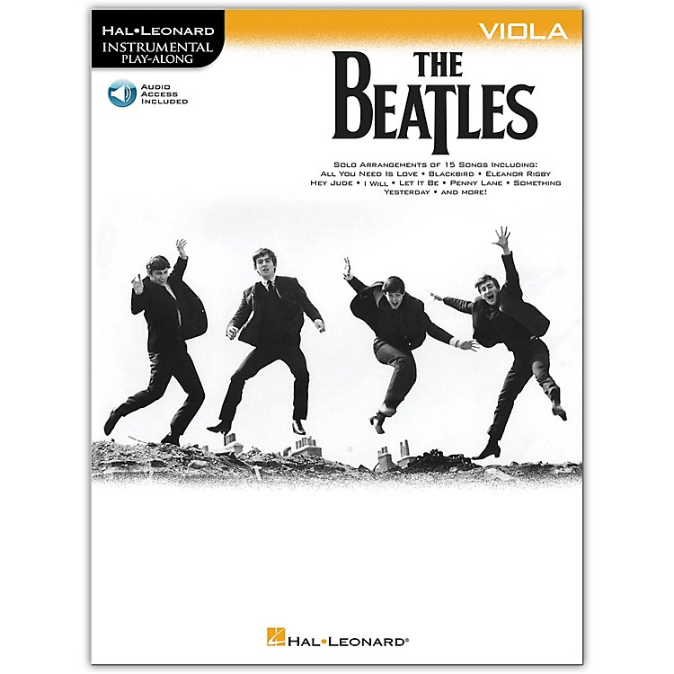 Hal LeonardThe Beatles - Instrumental Play-Along Series Viola Book/Audio Online