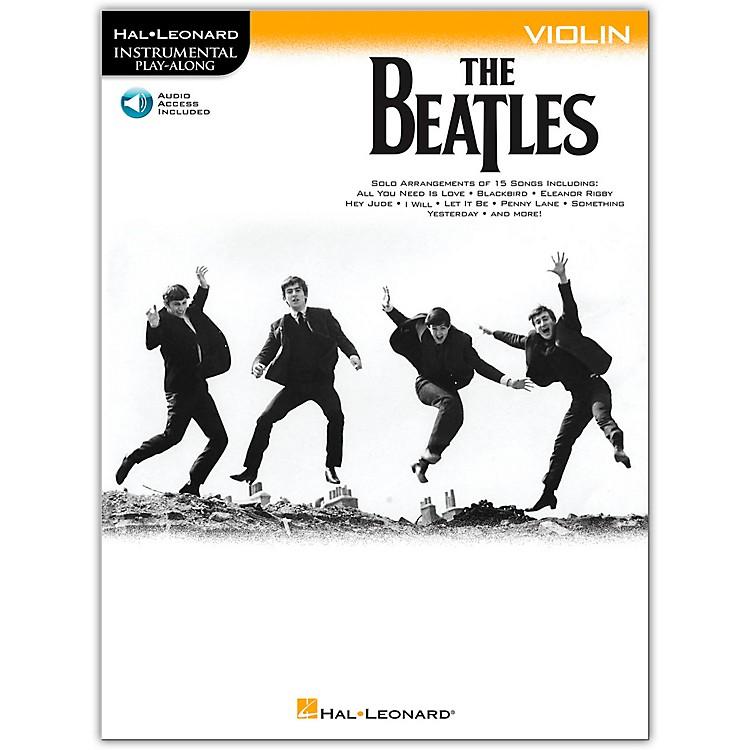 Hal LeonardThe Beatles - Instrumental Play-Along Series Violin Book/Audio Online