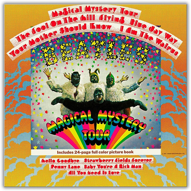 Universal Music Group The Beatles - Magical Mystery Tour Vinyl LP