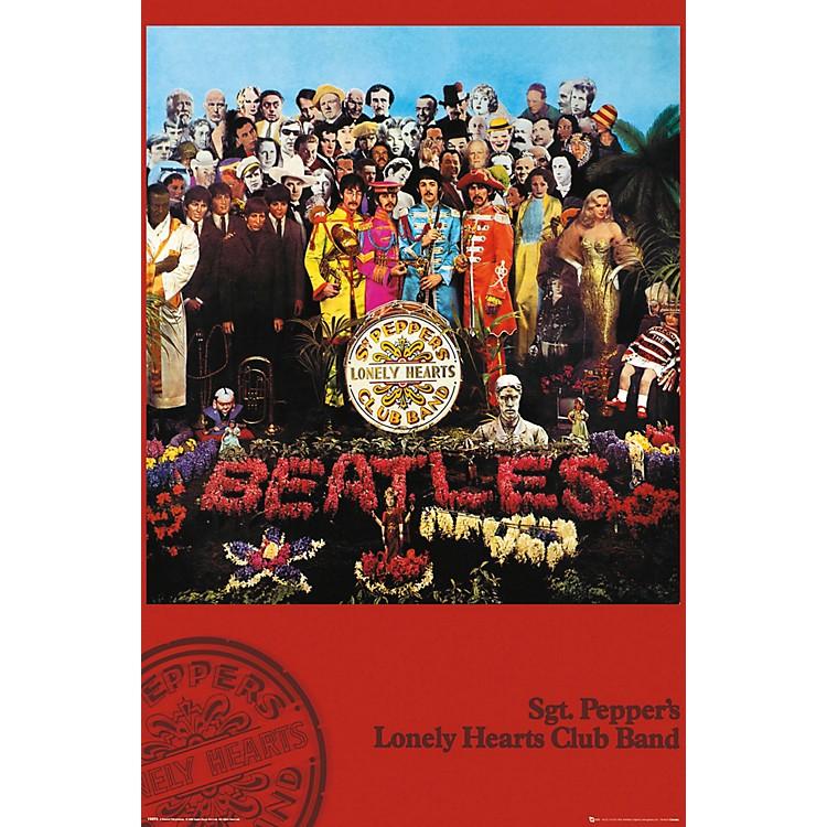 Trends InternationalThe Beatles - SGT. Pepper's PosterStandard Roll