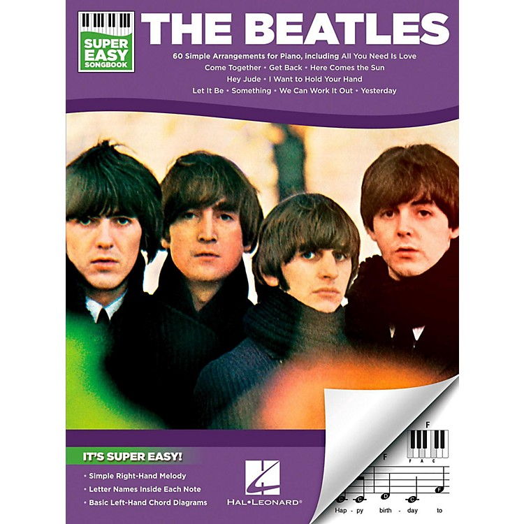 Hal LeonardThe Beatles - Super Easy Songbook
