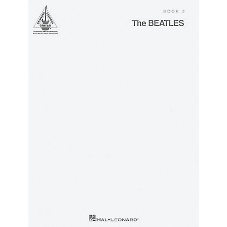Hal Leonard The Beatles - The White Album Guitar Tab Songbook 2