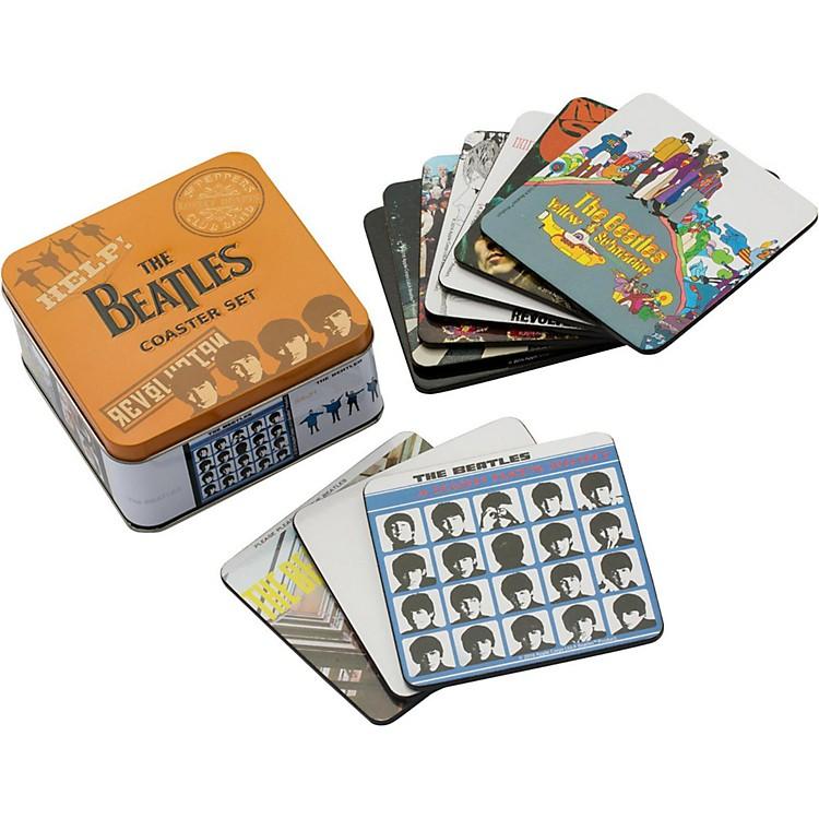 VandorThe Beatles 10 pc. Coaster Set with Collector Tin