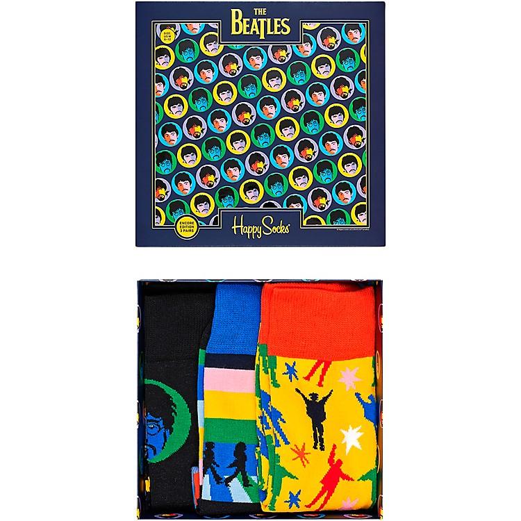 Happy SocksThe Beatles 3-Pack Socks Gift Box