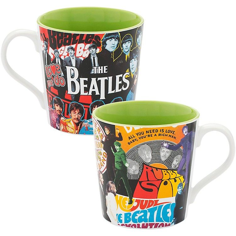 VandorThe Beatles Album Collage 12 oz. Ceramic Mug