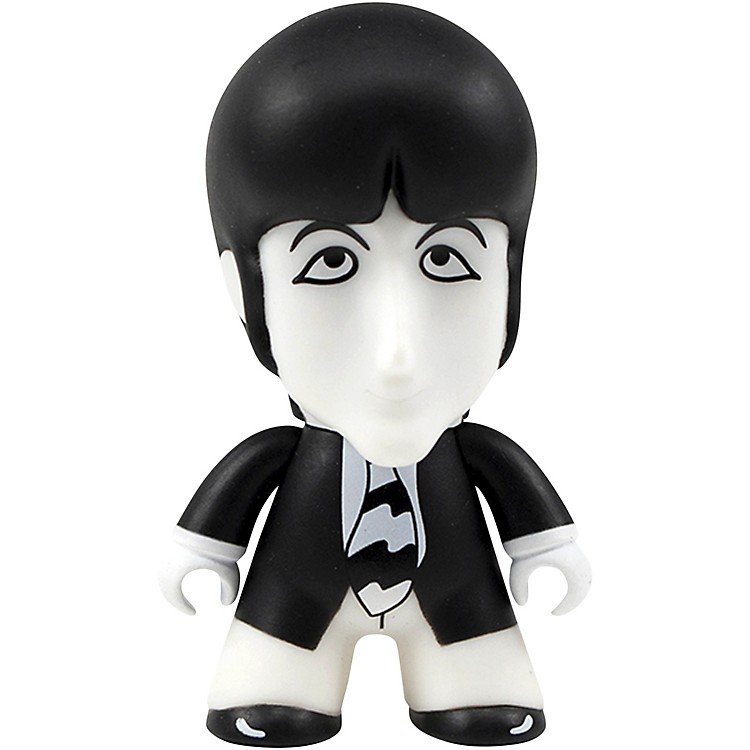 Entertainment Earth The Beatles Black and White Paul 4 1/2-Inch Titans Figure