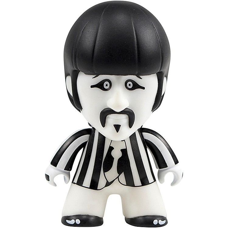 Entertainment Earth The Beatles Black and White Ringo 4 1/2-Inch Titans Figure