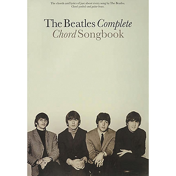 Hal LeonardThe Beatles Complete Guitar Chord Songbook